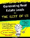 Realtors do you need leads to create a sales funnel?
